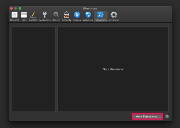 Как установить расширения Safari на Mac