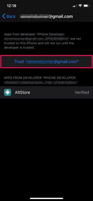 Как доверять приложению на iPhone и iPad