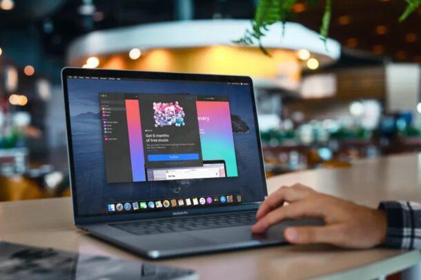 Как подписаться на Apple Music на Mac