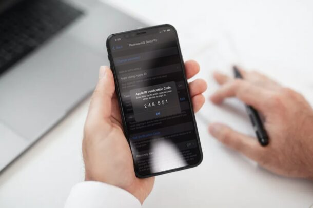 Как вручную получить коды подтверждения для Apple ID на iPhone и iPad
