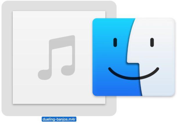 Как скопировать рингтон на iPhone из MacOS Finder