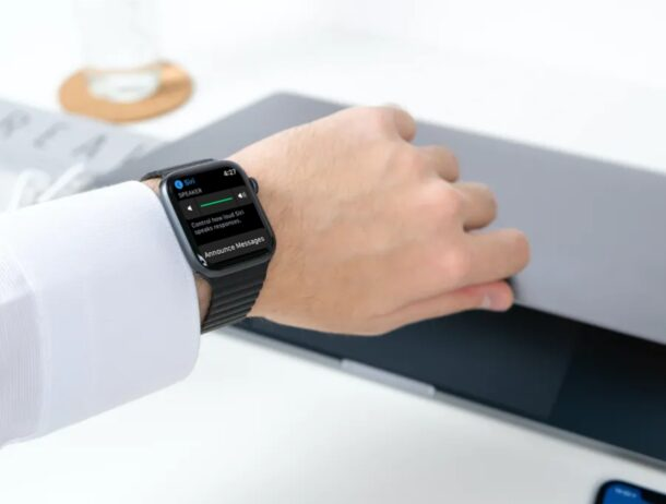 Как использовать анонсы с Siri на Apple Watch
