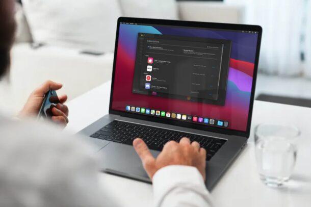Как управлять подписками на Mac