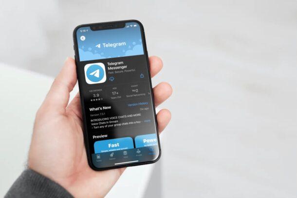 Как использовать Telegram на iPhone
