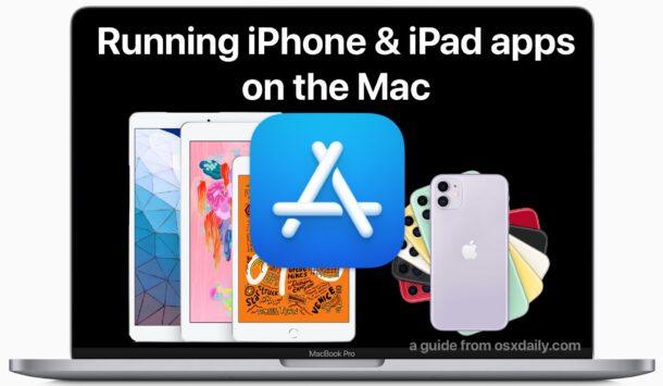 Как запускать приложения для iPhone и iPad на Mac