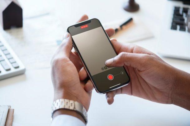 Как записывать видео во время воспроизведения музыки на iPhone