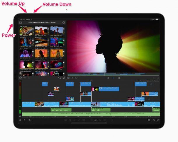 Как выключить и включить M1 iPad Pro (модель 2021 года)