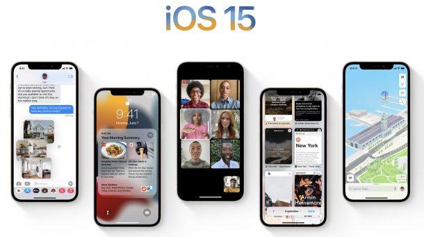 Поддерживаемые модели iPhone с iOS 15