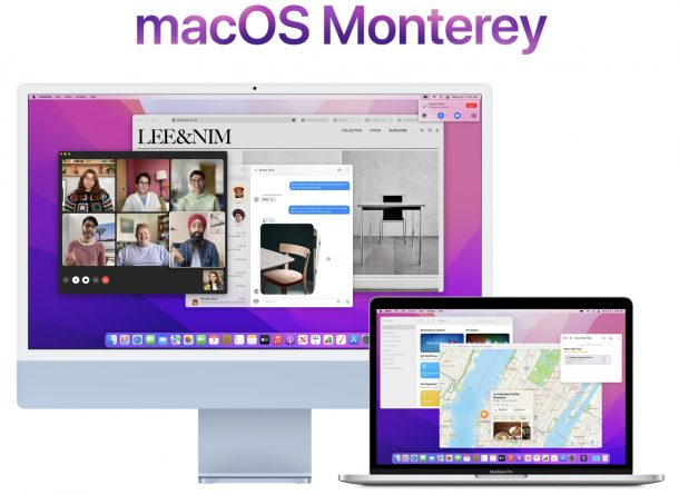 MacOS, совместимые с Монтерей