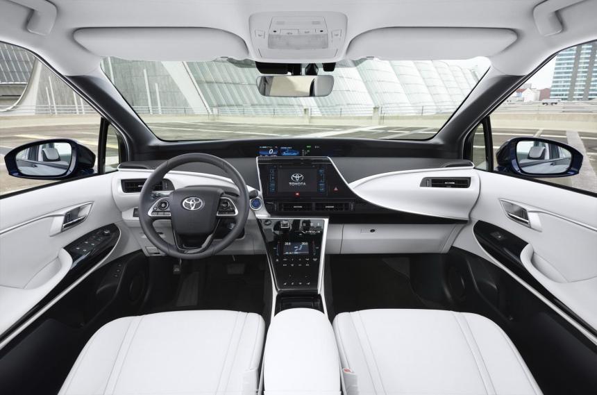 2016 Toyota Mirai Avrupa Versiyon Detaylı Resim Galerisi