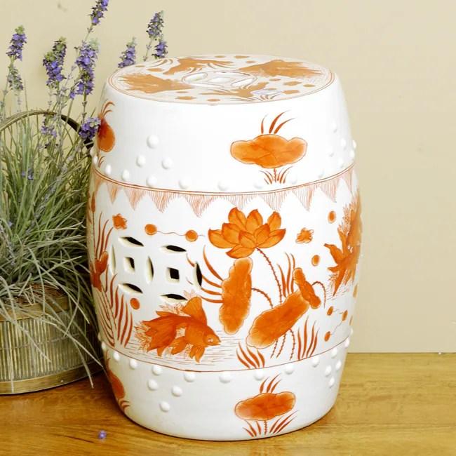 Overstock Porcelain Stool $100