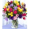 Monet's Garden Mixed Floral Bouquet