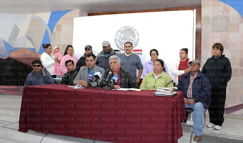Denuncian habitantes del municipio de Chalchihuites falta de saneamiento y captación de los residuos mineros por parte de First Majestic (Foto: Rocío Castro Alvarado)