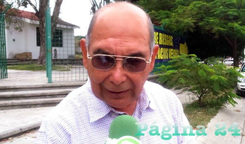 """""""Hemos acudido al ayuntamiento, muestran buena disposición, mas ellos se deslindan de que ellos no tienen documentos probatorios de que es un espacio del ayuntamiento, lo cual diferimos porque tenemos los documentos"""", dijo Luis Ramón Morales, de la asociación de colonos"""