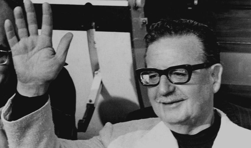 Salvador Allende, presidente de Chile de 1971 a 1973 (Foto: Archivo/Cuartoscuro)