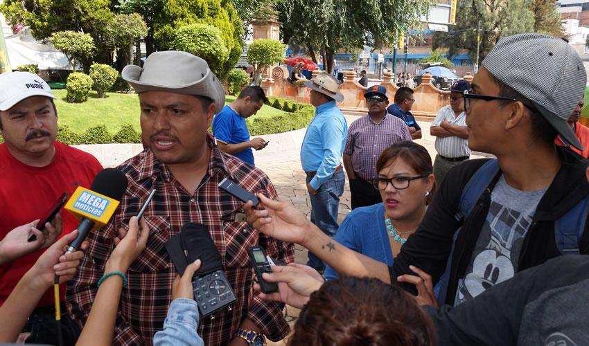 Víctor Hugo Montoya Gómez: La exigencia nacional es una mesa de diálogo productiva que al parecer comienza a rendir frutos con la Secretaría de Gobernación (Segob) (Foto: Merari Martínez Castro)