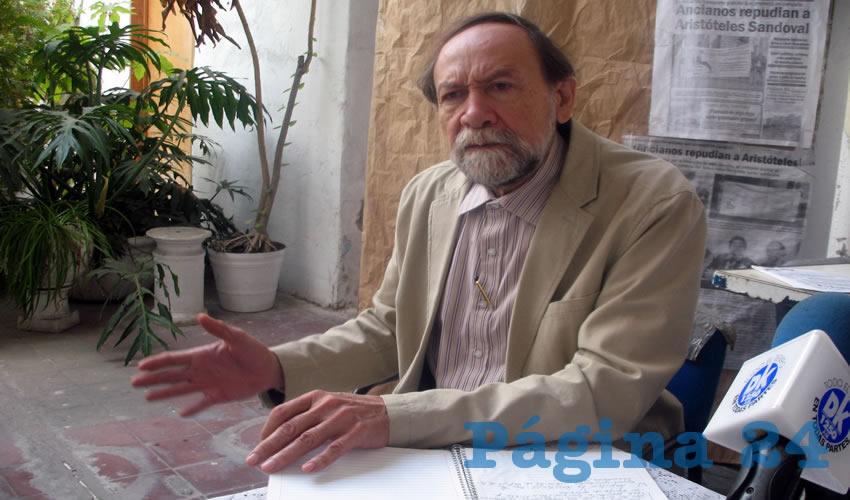 Gilberto Parra explicó que los comités serán para comenzar una campaña de información, con la que instruirán a los jaliscienses de lo que acontece al país por los aumentos desproporcionados no solo de los combustibles, sino de productos de canasta básica/Foto: Francisco Tapia