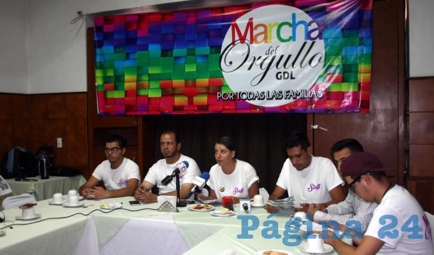 Hoy se llevará a cabo la cuarta Marcha del Orgullo GDL; el contingente partirá de la glorieta Minerva, informaron organizadores del encuentro/Foto: Francisco Tapia