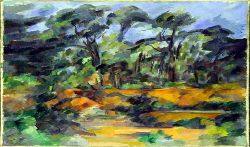 Bosque, Paul Cézanne, circa 1904