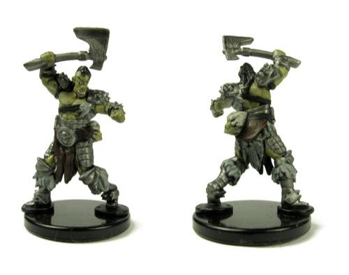 Mountain Orc Infantry Minis T