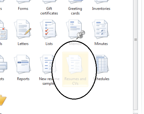 how to do a template in word