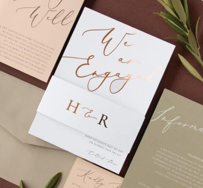 Wedding Event Invitations By