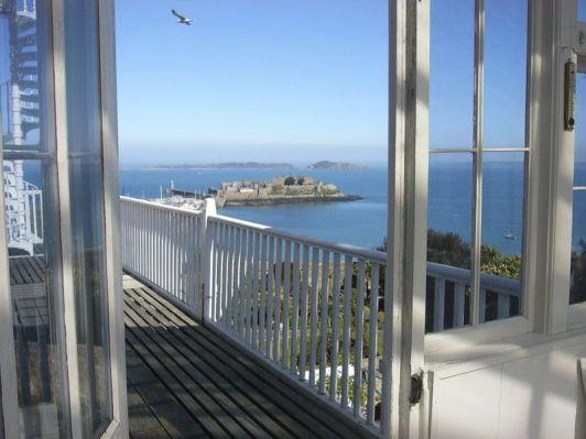 Vue sur la côte depuis la terrasse du 1er étage