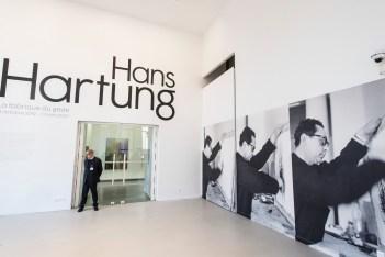 """Le MAM présente """"Hans Hartung, La Fabrique du geste"""" du 11 octobre 2019 au 20 mars 2020."""