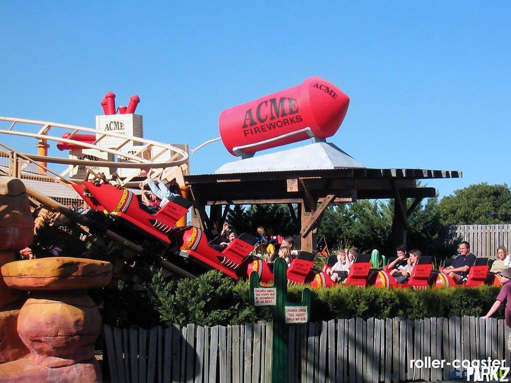 Road Runner Roller Coaster. Taken from here