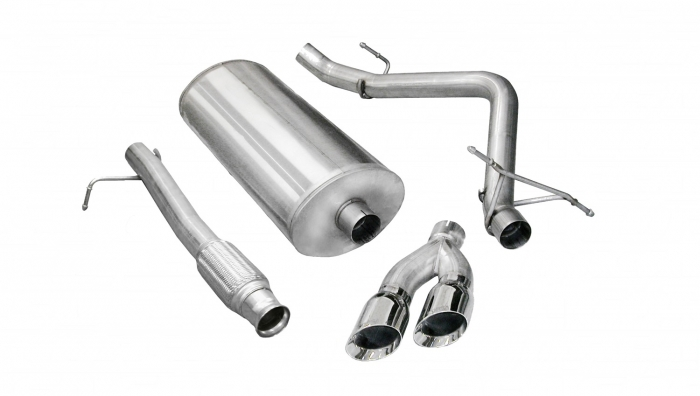 corsa sport cat back exhaust system