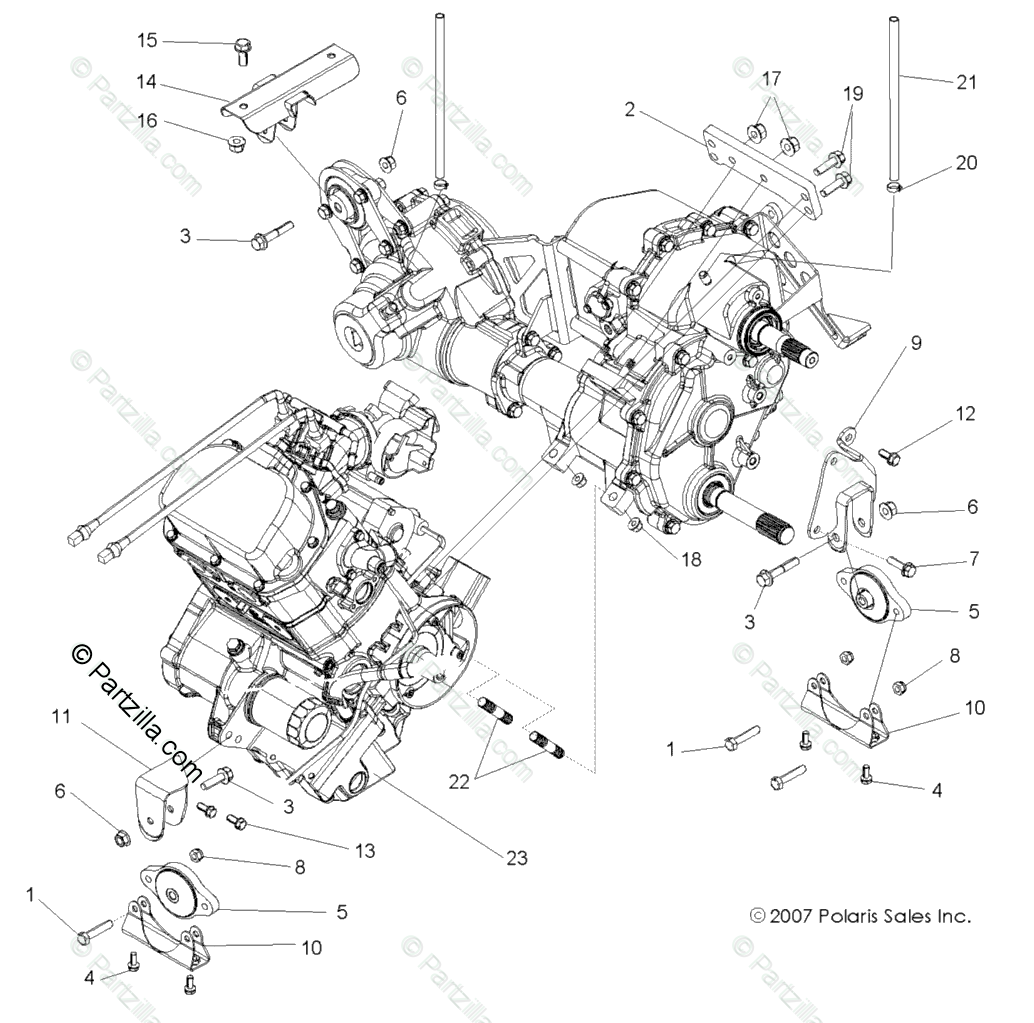 Polaris Rzr Engine Diagram