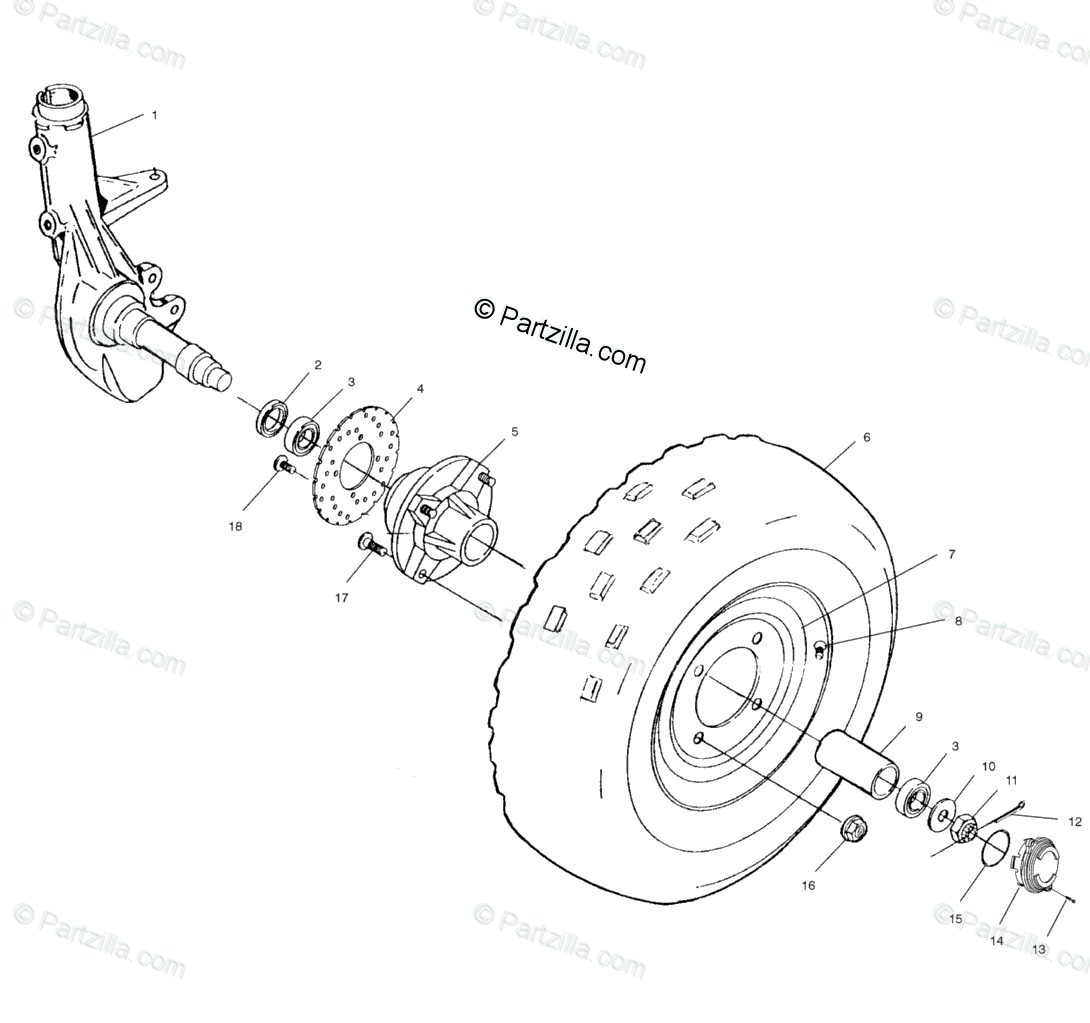 Polaris 330 Trail Boss Parts Diagram
