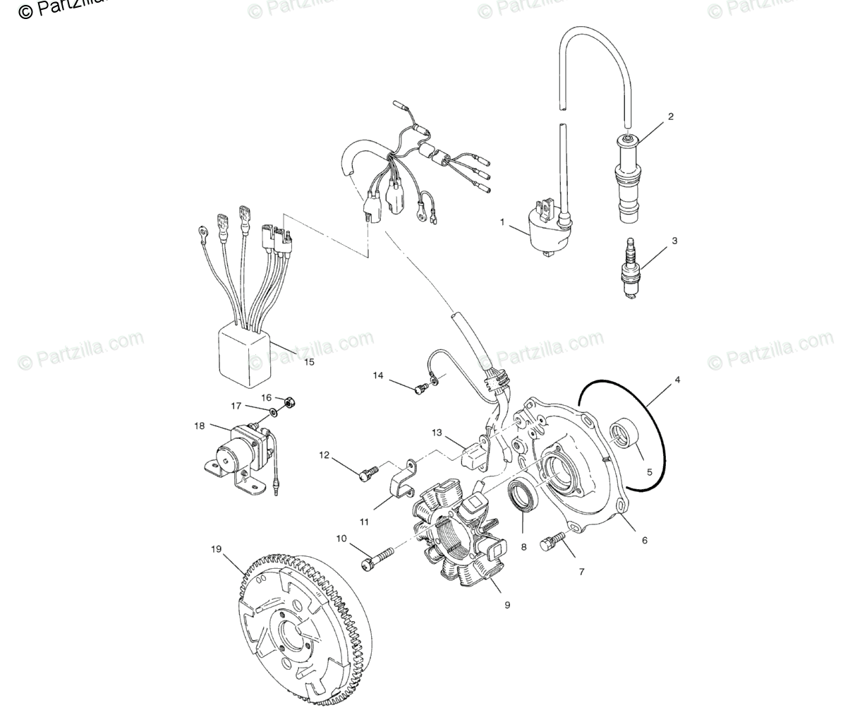Polaris Side By Side Series 10 Oem Parts Diagram For