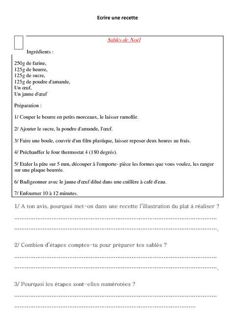 La Recette Leon Ce2 Cm1 Lecture Pass Education
