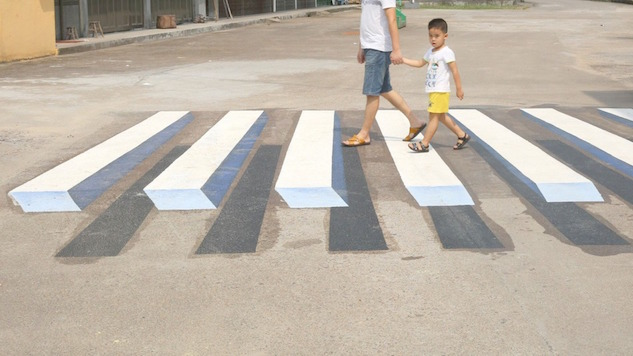 India Wants to Use Optical Illusions to Cut Down on Traffic Accidents