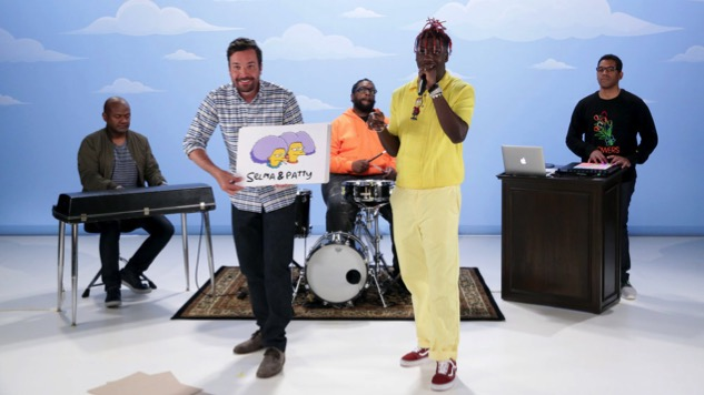 Watch Lil Yachty Rap About 59 Simpsons Characters On Jimmy