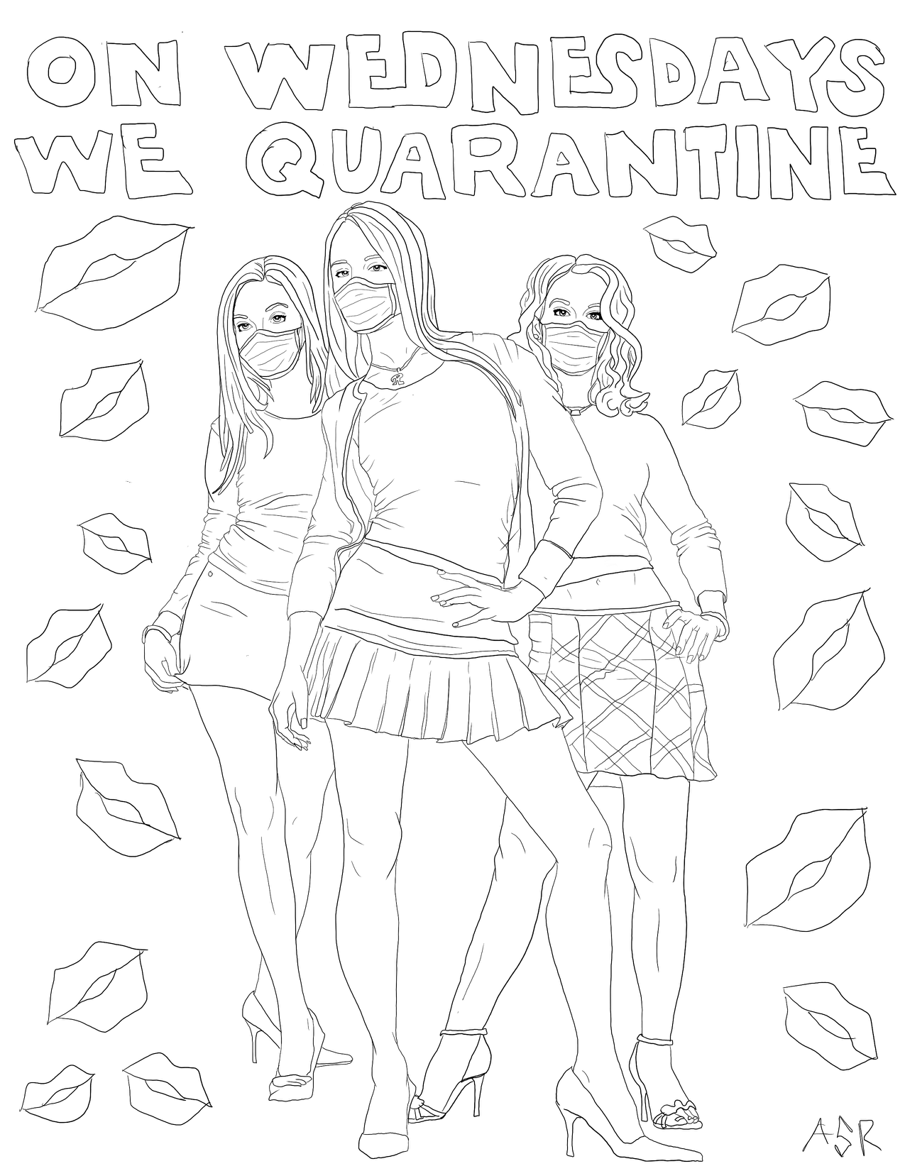 These Are The Best Quarantine Coloring Pages Paste