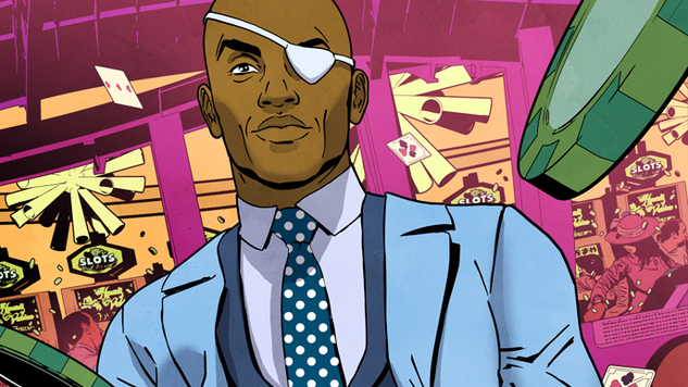 Artist Aco Sterankos The Hell Out Of New Nick Fury Comic With James Robinson Paste