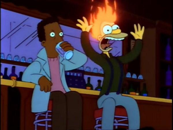 Cooking The Simpsons: Flaming Moe (Flaming Homer) :: Food ...
