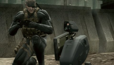 Image result for Metal gear Mk 2 Metal gear solid 4