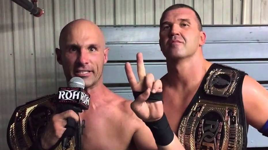 Image result for Roh wrestling addiction with tag title