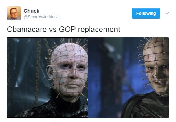 The Best Obamacare vs. GOP Replacement Tweets :: Comedy ...