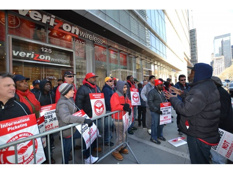 Massachusetts Verizon Workers Prep For Massive East Coast Strike