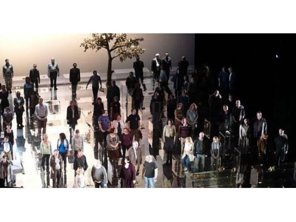Flash Chorus at Woodbridge Mall Wednesday Sings Handel's...