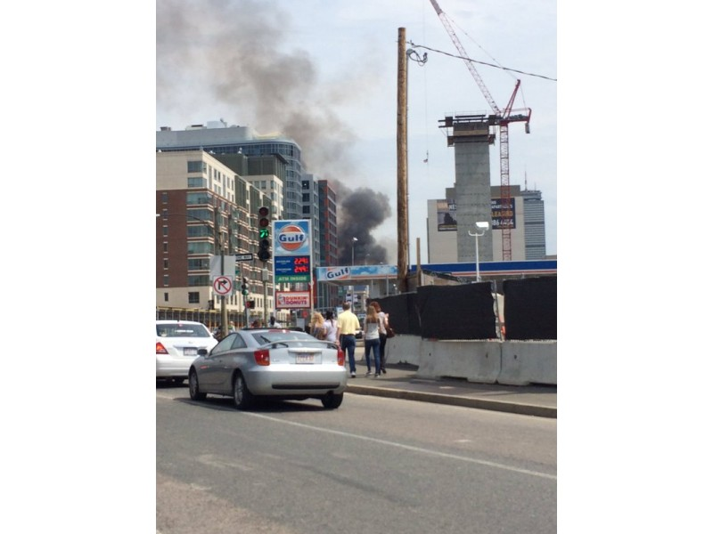 Boston Fire Fills Air with Black Smoke, Diverts Traffic