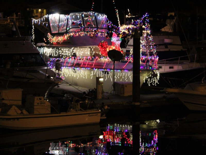 Santa Cruz Lighted Boat Parade Was A Feast For The Eyes