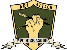 Art Attack Fredericksburg on Saturday