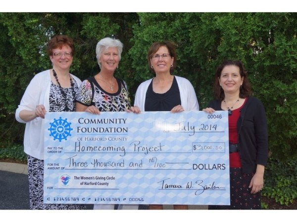 Women's Giving Circle of Harford County Awards $20,000 in...