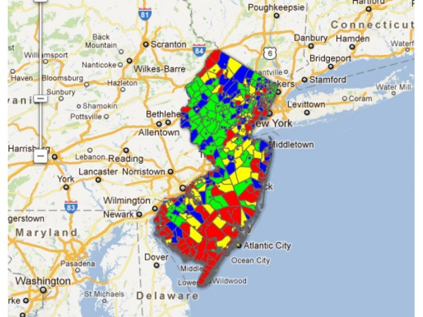Interactive Map: The State of Property Taxes in NJ - East ...