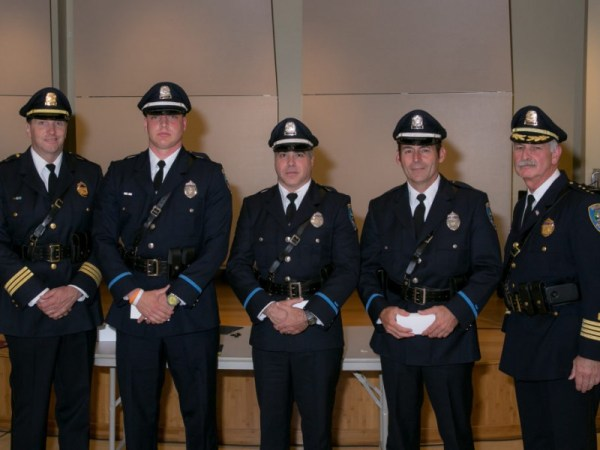 Belmont Police, Fire Hand Out Service Awards | Belmont, MA ...